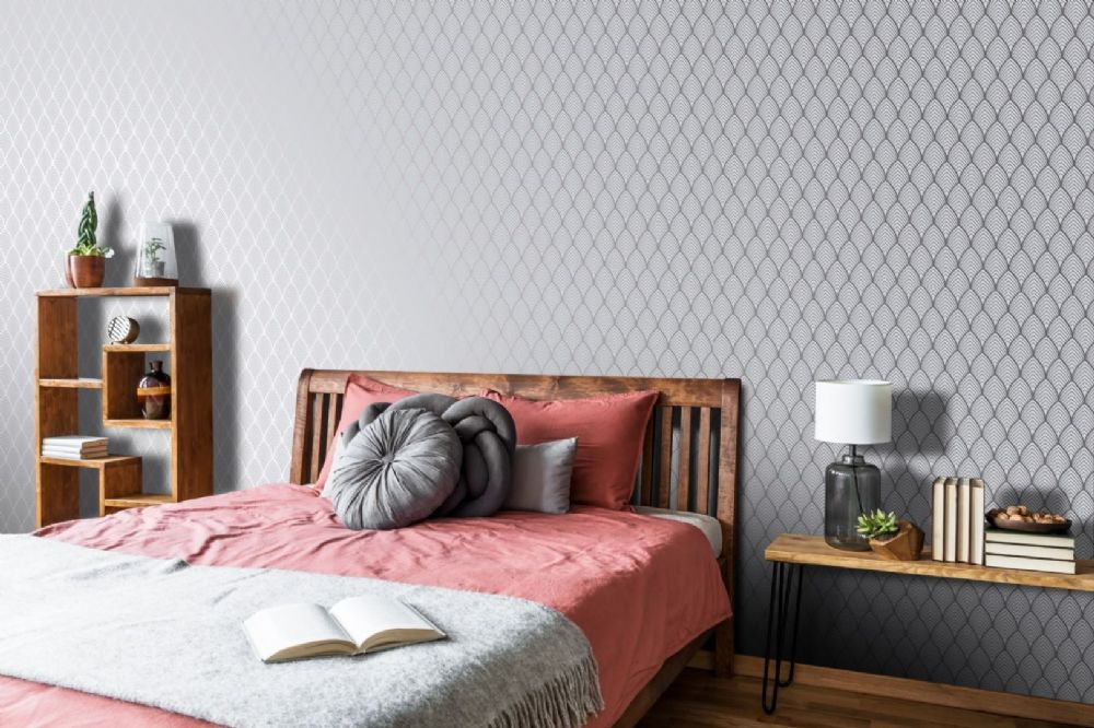Graham and Brown Bercy Grey 105211 Wallpaper PB